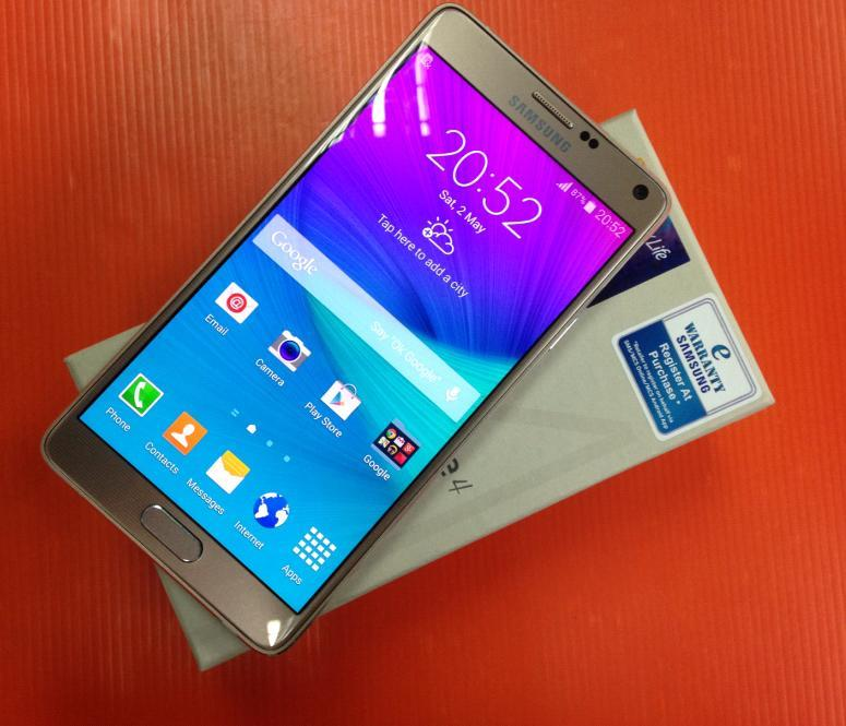 SAMSUNG GALAXY NOTE 4 USED RM950 FREE CASE ORI SET