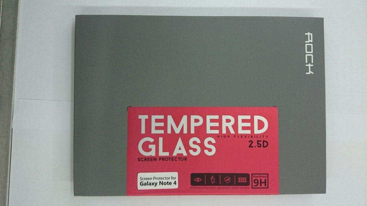 Samsung Galaxy Note 4 Rock 2.5D 9H Tempered Glass Screen Protector