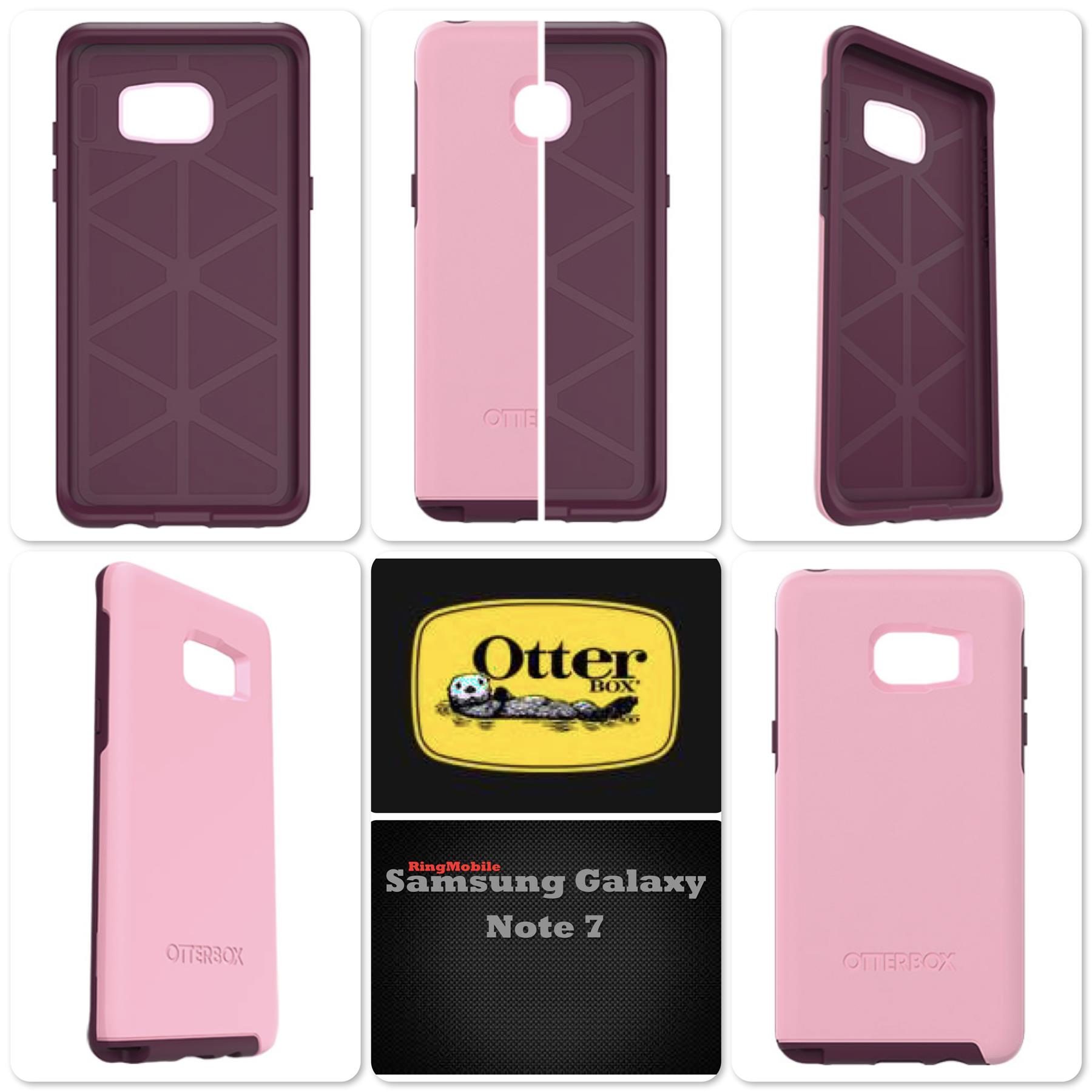 Samsung Galaxy Note 7 Otterbox Symmetry Series Rose