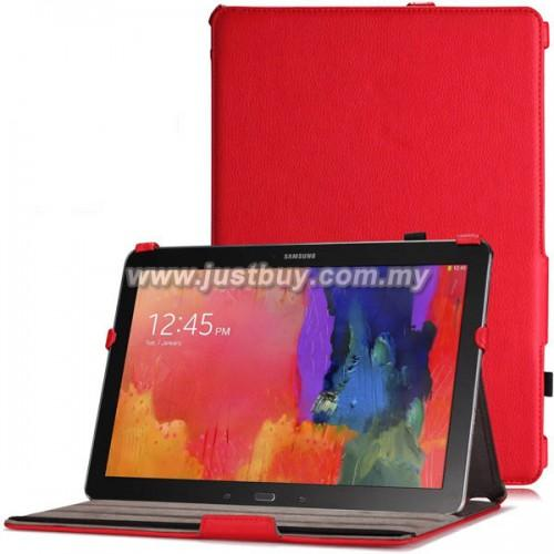 Samsung Galaxy Note / Tab PRO 12.2 Premium Leather Case - Red