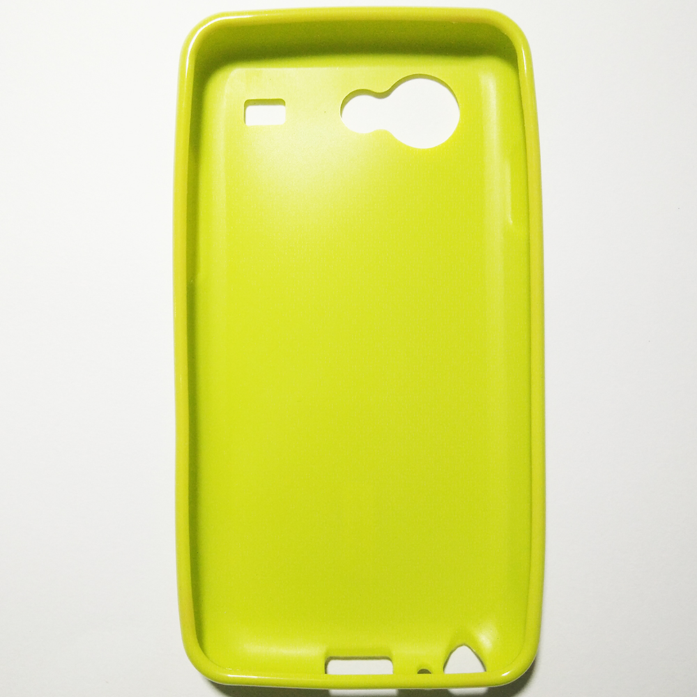 SAMSUNG GALAXY S ADVANCE - GREEN COLOUR - PHONE SILICONE BACK COVER CA..