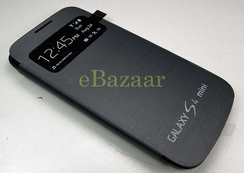 Samsung Galaxy S4 Mini l9190 Flip Cover with Front Window