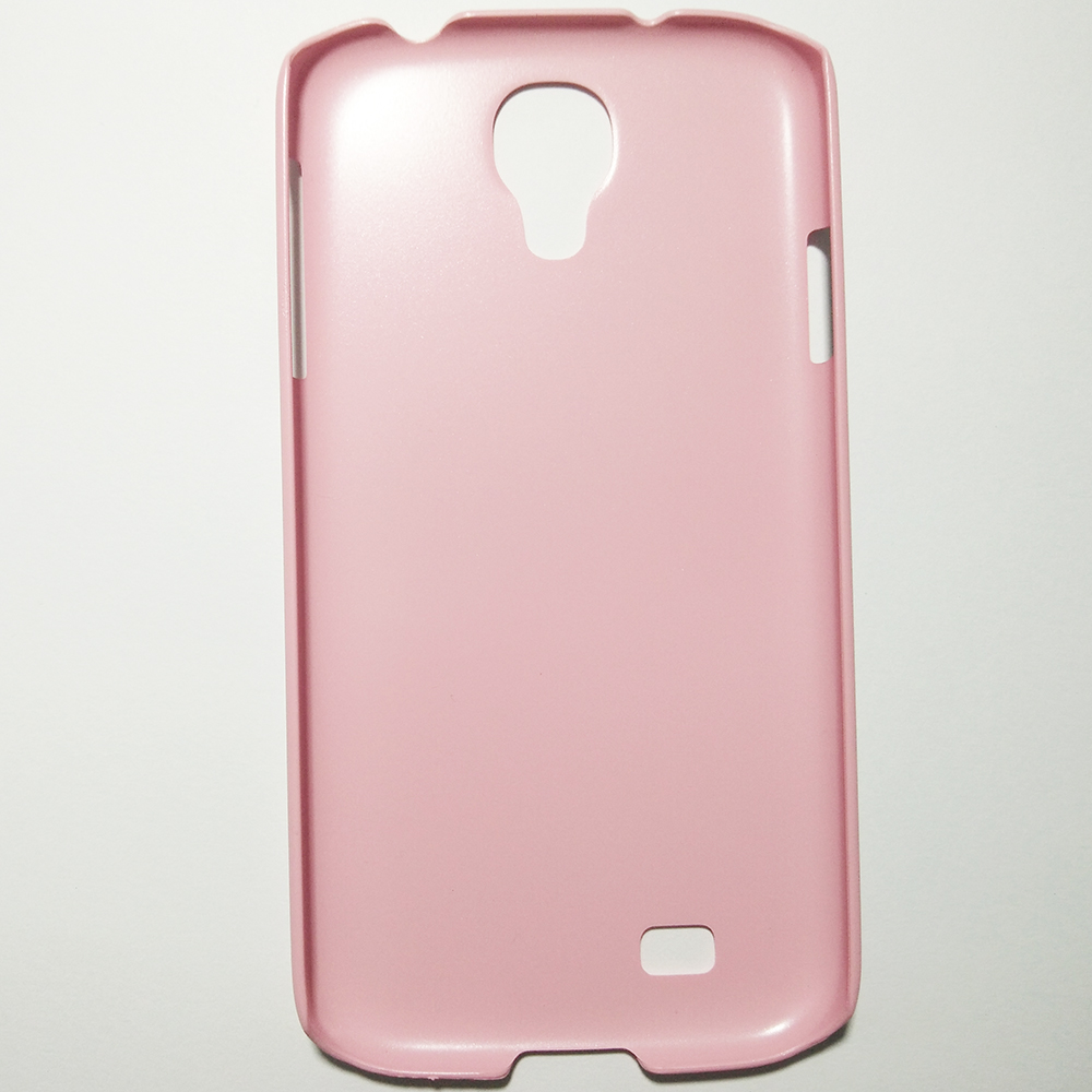 SAMSUNG GALAXY S4 - PINK COLOUR - PHONE HARD BACK COVER CASE