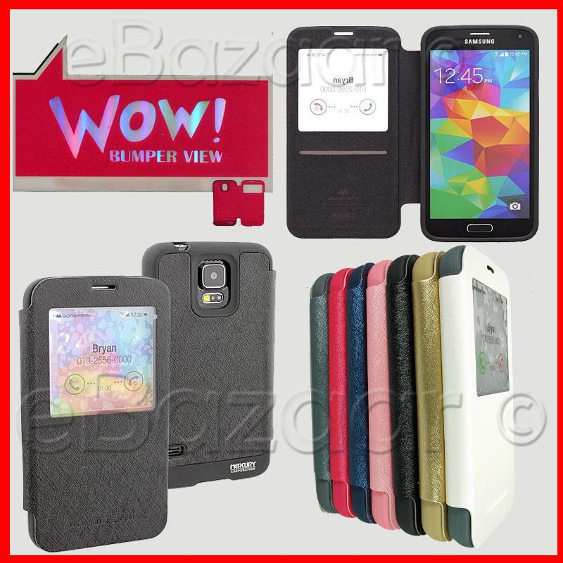 Samsung Galaxy S5 i9600 Mercury WOW! Bumper View Case