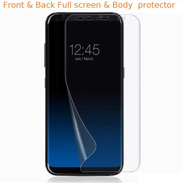 Samsung Galaxy S8 Plus Hd Clear Full Screen Protector Sp