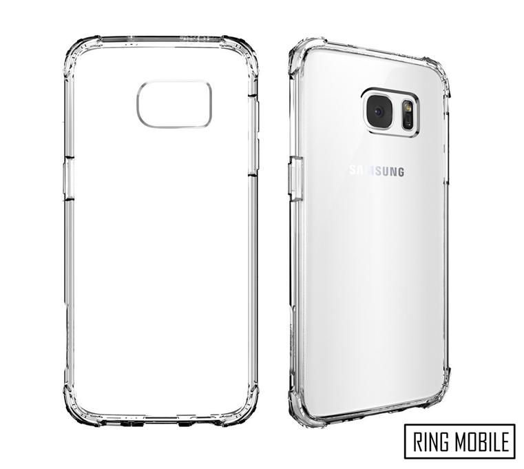Samsung Galaxy S7 Edge Spigen Crystal Shell series Back Case