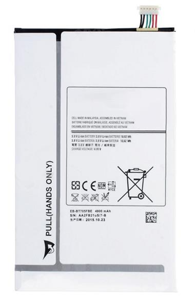 SAMSUNG GALAXY TAB S 8.4 T705 OEM 4900MAH REPLACEMENT BATTERY