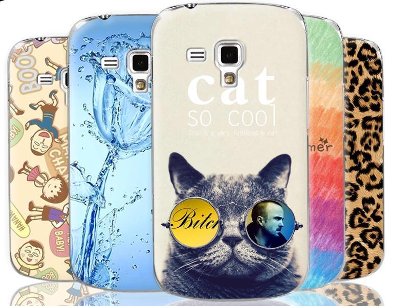 Samsung Galaxy Trend Plus S7580 Cartoon Hard Back Case Cover Casing