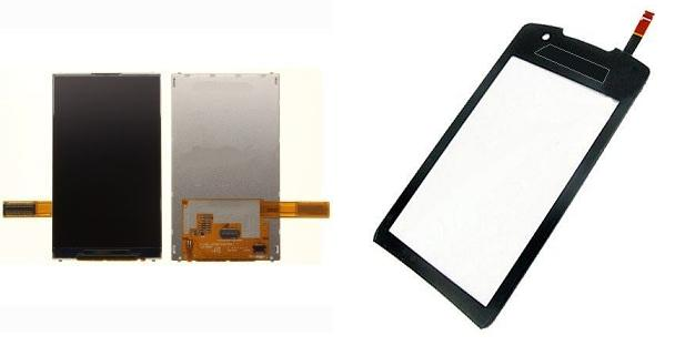 Samsung Monte S5620 LCD Display / Digitizer Touch Screen Repair