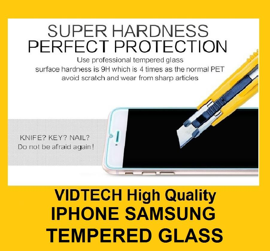 SAMSUNG NOTE 2,3,4 5 S3,4,5 IPHONE 4,5,6,6 PLUS XiaoMi3 Tempered Glass