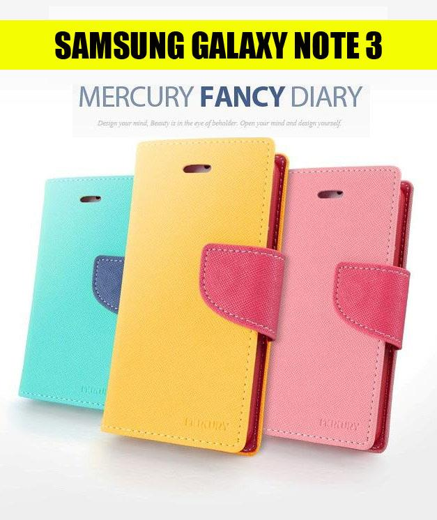 Samsung Note 3 Mercury Fancy Diary Leather Case