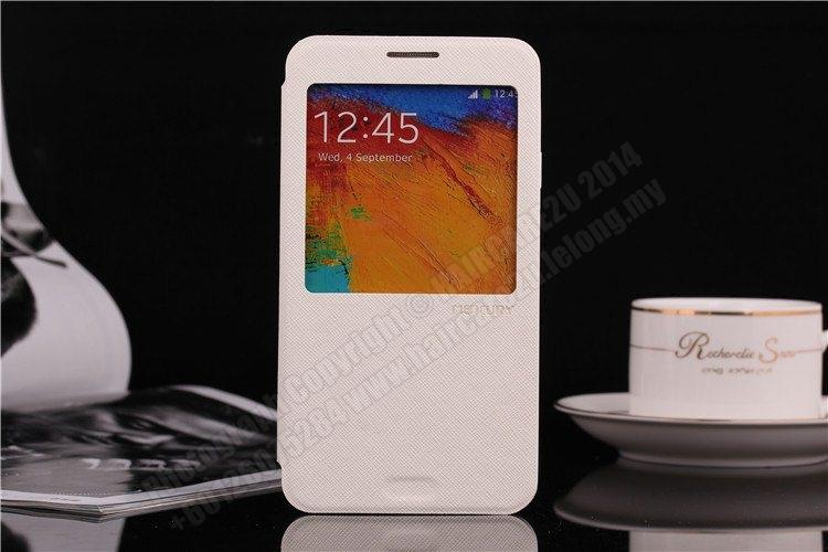 Samsung Note 3 N9000 Mercury S View Case Cover