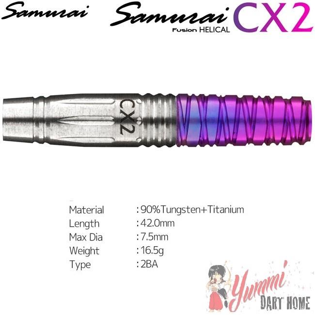 SAMURAI FUSHION HELICAL CX 2