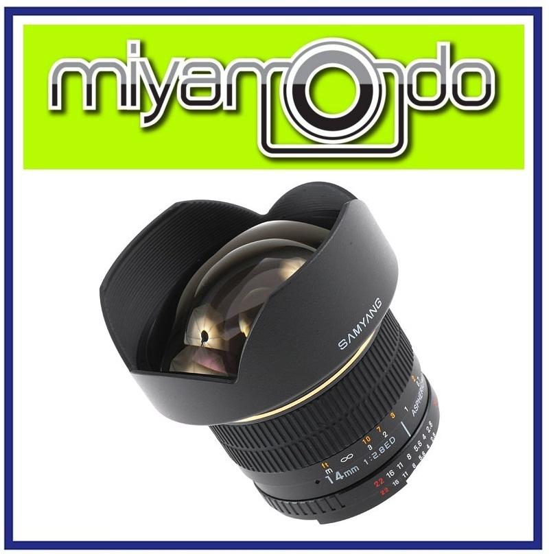NEW Samyang 14mm F/2.8 IF ED UMC For Nikon AE