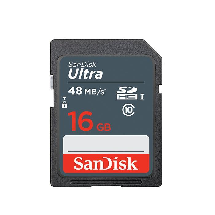 SanDisk 16Gb Ultra SDHC SD Memory Card 48MB/s