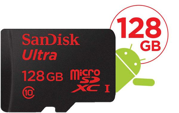 SanDisk Ultra 128GB micro SD SDXC FULL HD 80MB Card ~Class 10 UHS-I