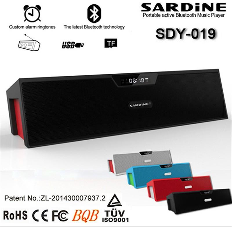 SARDINE SDY019 Super Bass Bluetooth MP3 Radio Stereo Wireless Speaker