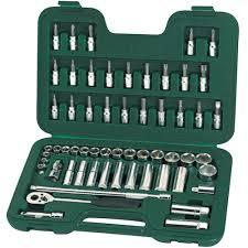 Sata 09004 58PCS 3/8' DR SOCKET SET ID007520