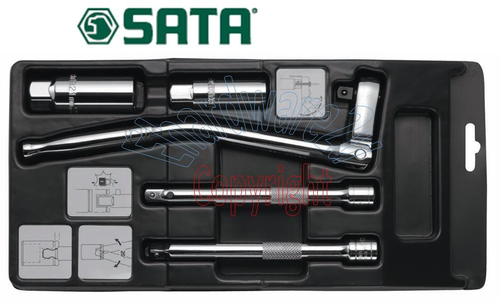 SATA 5Pcs 3/8'DR Spark Plug Socket Tune Up Kit (09003)