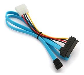 SATA to SAS Cable SATA 7 Pin to SAS 29 Pin & 4 Pin Power Cable
