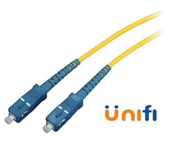 SC-SC Single Mode Fiber Optic Unifi Maxis FTTH 9/125 5 Meter (S090)