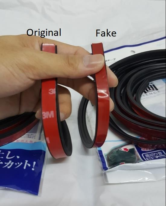 SCHEME SILENCE 4.3 Meter Rubber Seal Wind & Sound Proof for Car Doors
