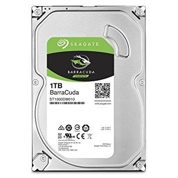 SEAGATE BARRACUDA 1TB 3.5' 64MB SATA 6.0Gb/s HDD ST1000DM010