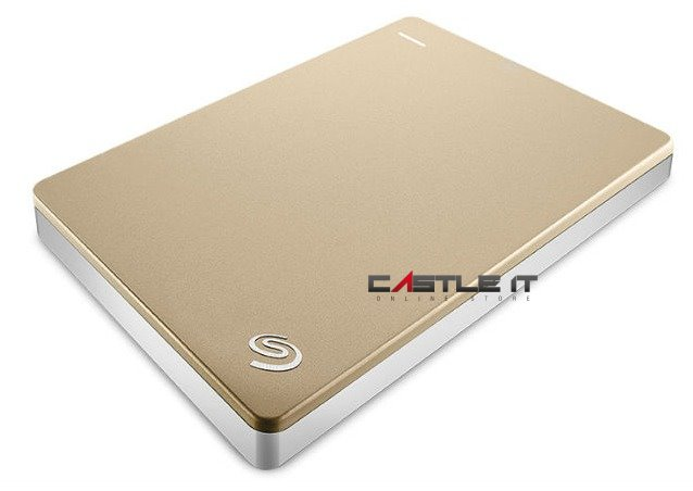 SEAGATE HDD EXT 2.5' USB3 BACKUP PLUS SLIM 2TB (STDR2000307) GOLD
