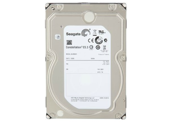 SEAGATE HDD INT Desktop SATA3 CONSTELLATION ES 4TB 128MB ST4000NM0033