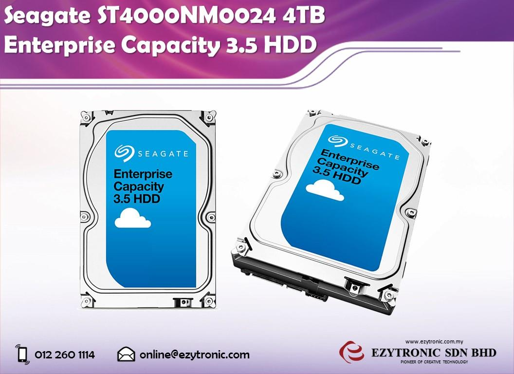 Seagate ST4000NM0024 4TB Enterprise Capacity 3.5 HDD