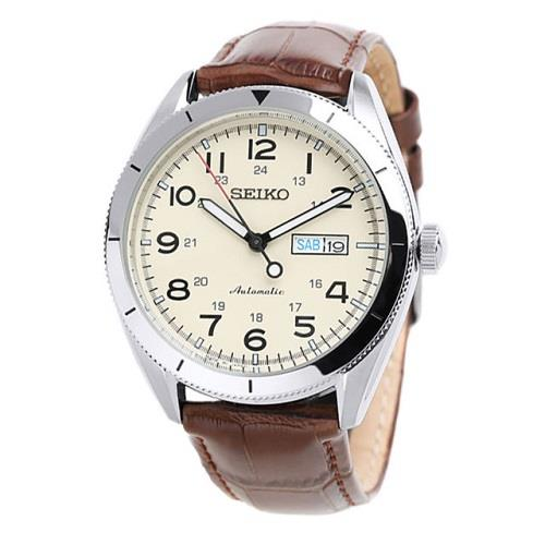 SEIKO 5 SPORTS SRP713J1  SRP713 AUTOMATIC LEATHER MENS WATCH