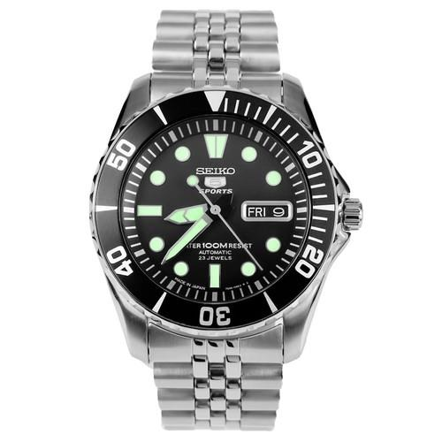 SEIKO SNZF17J1 SNZF17 5 Sports Automatic Jubilee Mens Watch