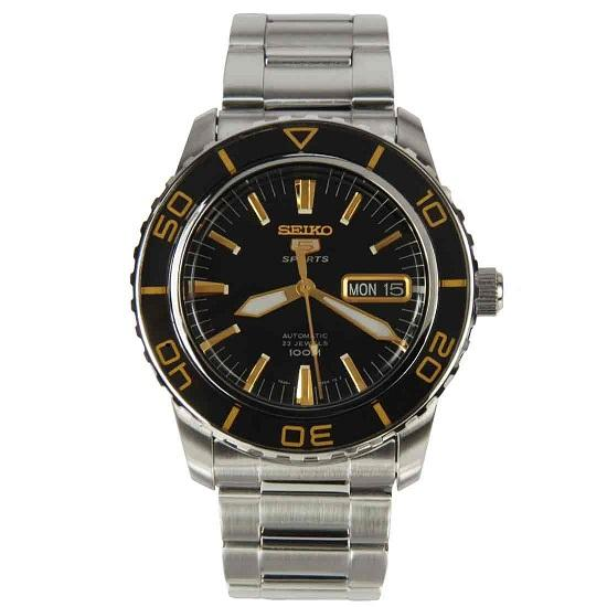 SEIKO SNZH57K1 SNZH57 AUTOMATIC SPORTS DIVER MENS WATCH