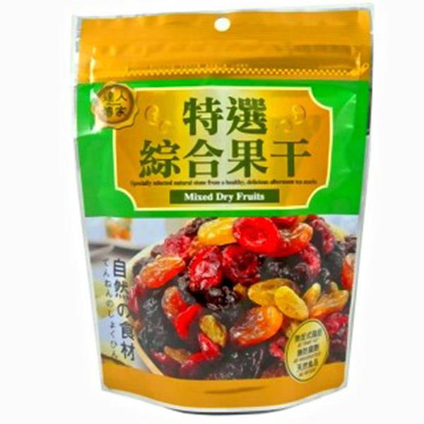 Selected Dried Fruits Assorted Snacks Halal Certified 100% Taiwan
