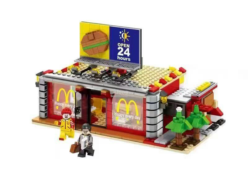 Sembo Block SD6901 McDonald Restaurant