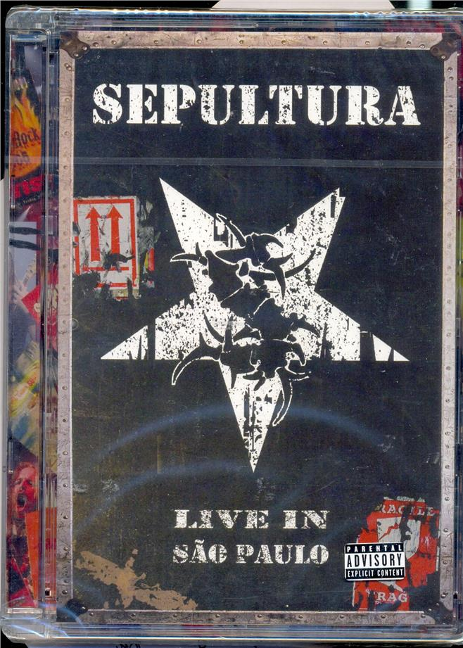 Sepultura -  Live In Sao Paulo - New Live DVD