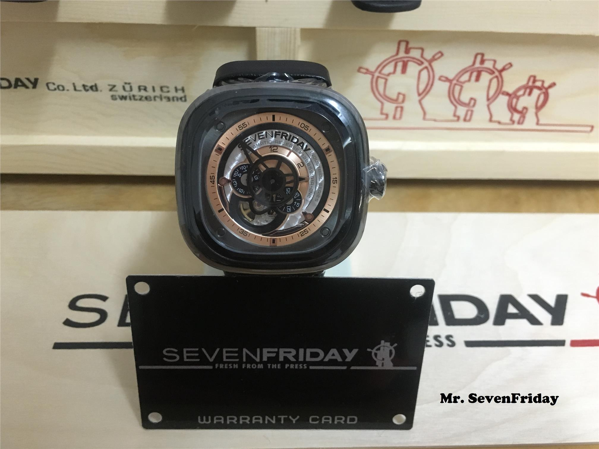 Sevenfriday Watches RM850 call/whatapps 0136666700