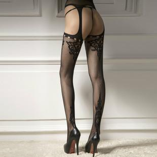 Sexy Four Side Open Net Stockings