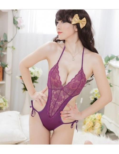Sexy Lingerie Free Size Robe With Teddy YW545