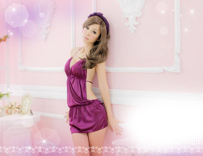 Sexy Lingerie Sleepwear Nightwear Dress Pyjamas 11341