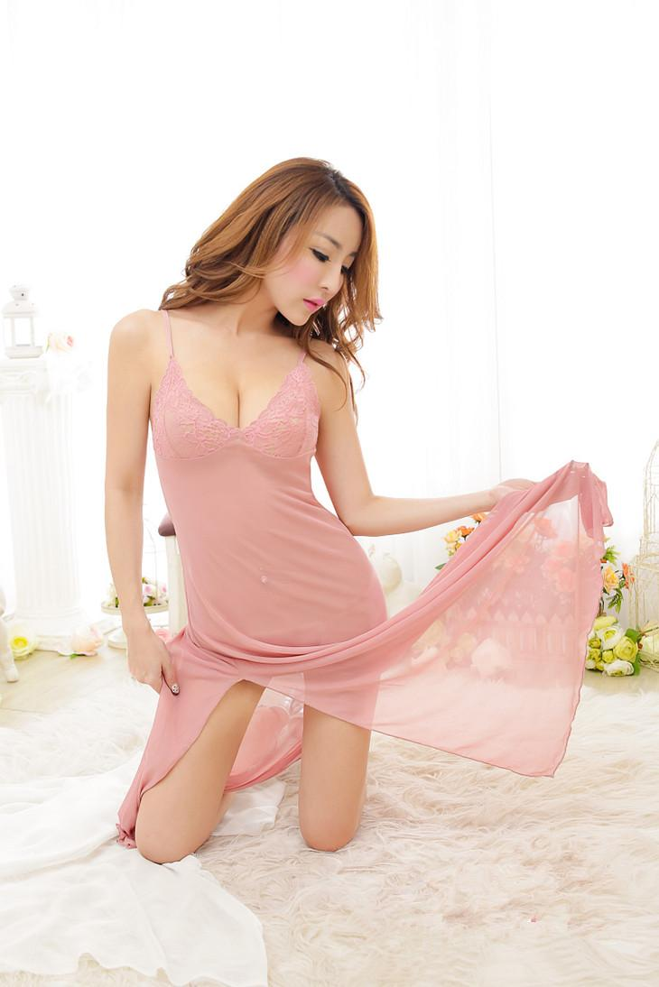 Sexy Lingerie Sleepwear Nightwear Dress Pyjamas 16198 (5 Colors)