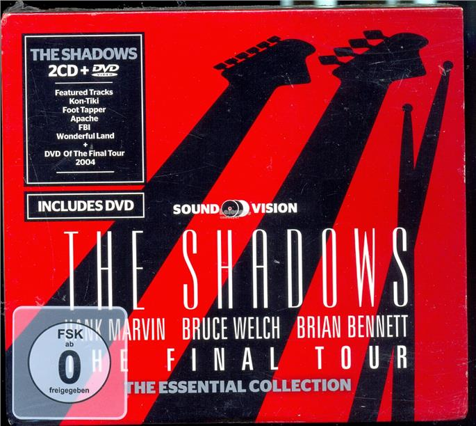 The Shadows - The Final Tour - New DVD