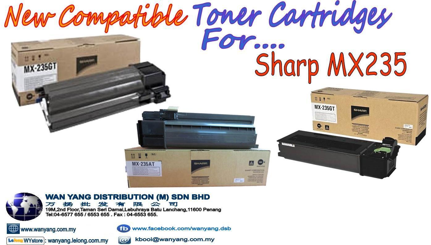 Sharp MX235 Compatible Toner cartridges