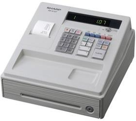 SHARP XE-A107WH CASH REGISTER CASHIER MACHINE ( 6 YEARS WARRANTY )