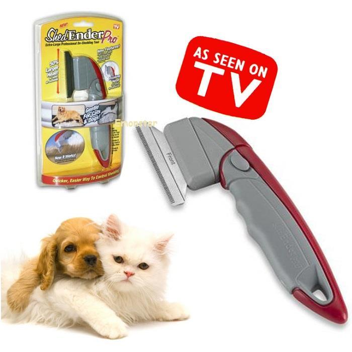 Shed Ender Pro for Cats & Dogs Grooming De-Shedding Tool Comb