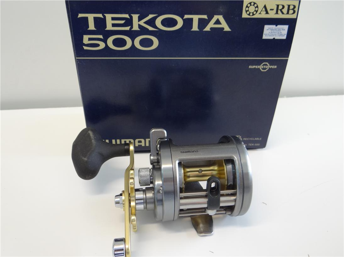 Shimano Tekota 500 fishing reel