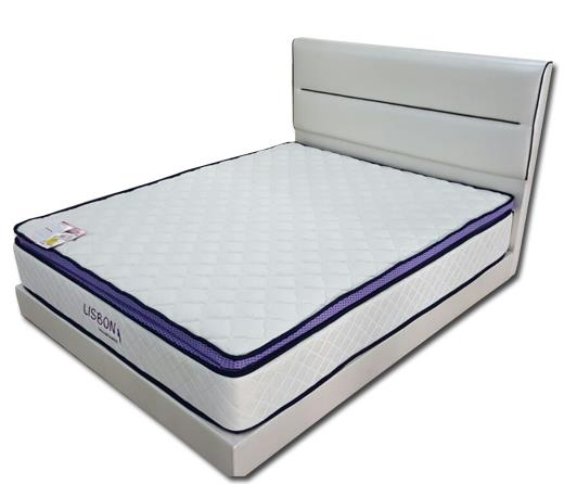 Shinto Queen Divan + Goodnite SpinaHealth Lisbon Mattress