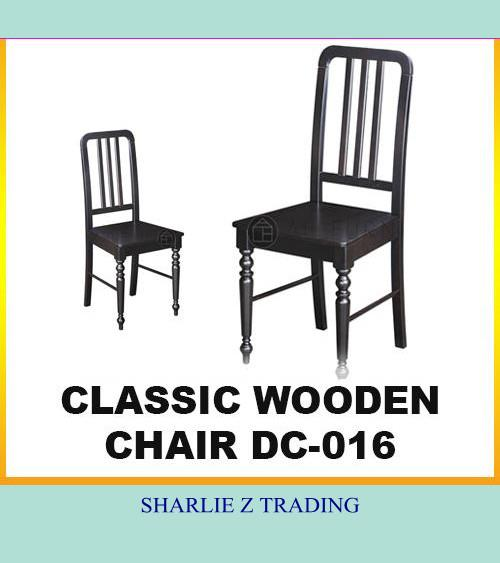 Shop House Room Restaurant Cafe Wooden Chair Dining Chair