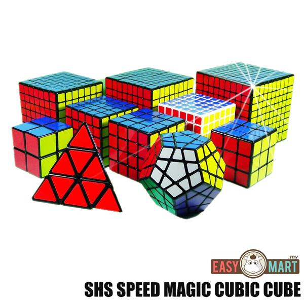 SHS Speed Magic Rubik Megaminx Mirror Cube 2x2 3x3 4x4 5x5 6x6 7x7