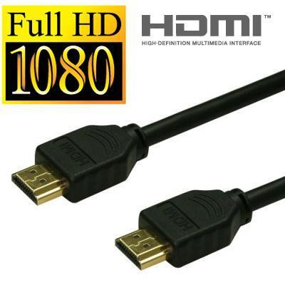 SIEMAX 3 Meter 3D Gold Plated HDMI Cable 1.4 Version 3M